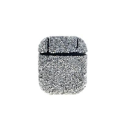 Diamant fodral till för Apple Airpods / Airpods 2 - Silver
