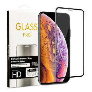 Härdat Glasskydd iPhone 11 / XR Täcker hela skärmen