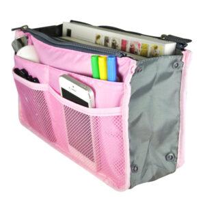 Bag in Bag Handväskinsats Väskinsats Rosa
