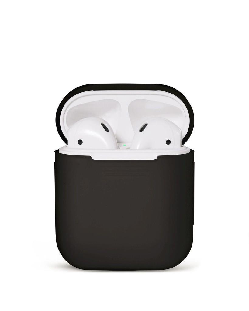 Silikonskal fodral för Apple Airpods / Airpods 2 - Svart