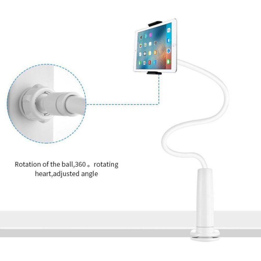 Flexibel universal skrivbordshållare för Surfplatta Mobil iPad..