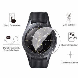 Härdat glas skärmskydd till Samsung Galaxy Watch 42mm