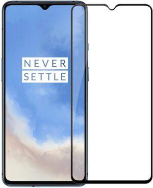 Glasskydd OnePlus 7T Härdat Täcker hela skärmen