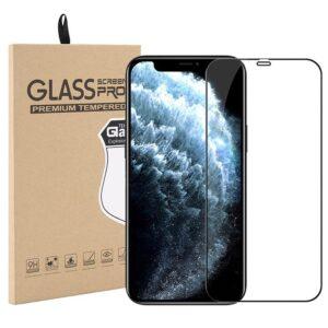 Härdat Glasskydd iPhone 12 Mini Täcker hela skärmen