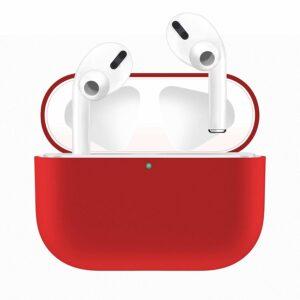Silikonskal fodral för Apple Airpods PRO Röd