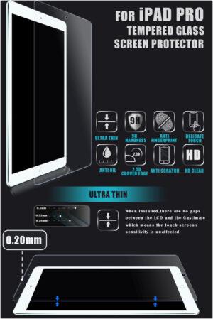 Displayskydd i härdat glas till iPad Pro 12,9 tum
