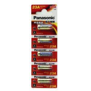 Panasonic 5st 23A / 23AE / 3LR50 / A23 / 8LR23 / VE22