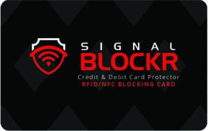 2X RFID Blockerings kort - RFID skydd - Skydda dina Bankkort