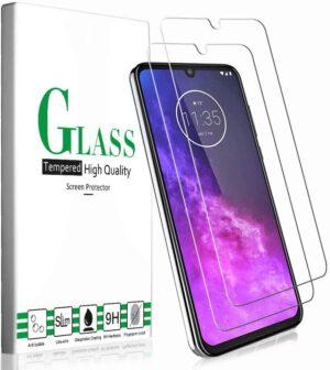 2X Skärmskydd i Härdat Glas för Motorola one zoom