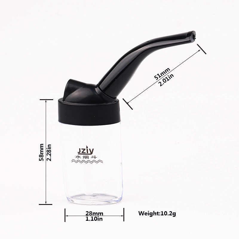 Cigarettmunstycke med vatten filtering.