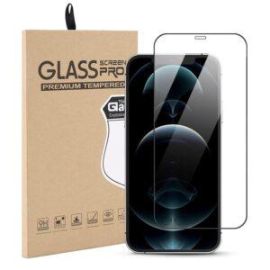 Härdat Glasskydd iPhone 12 Pro / iPhone 12 Täcker hela skärmen