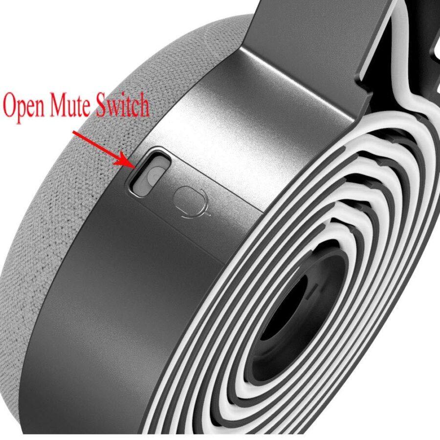 Väggfäste / Hängare till Google Nest Mini Svart