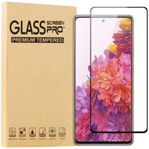 Härdat Glasskydd Samsung S20 FE Full Fit ,Fingerprint