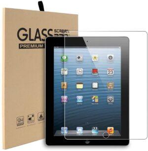 Displayskydd i härdat glas till iPad 2/3/4