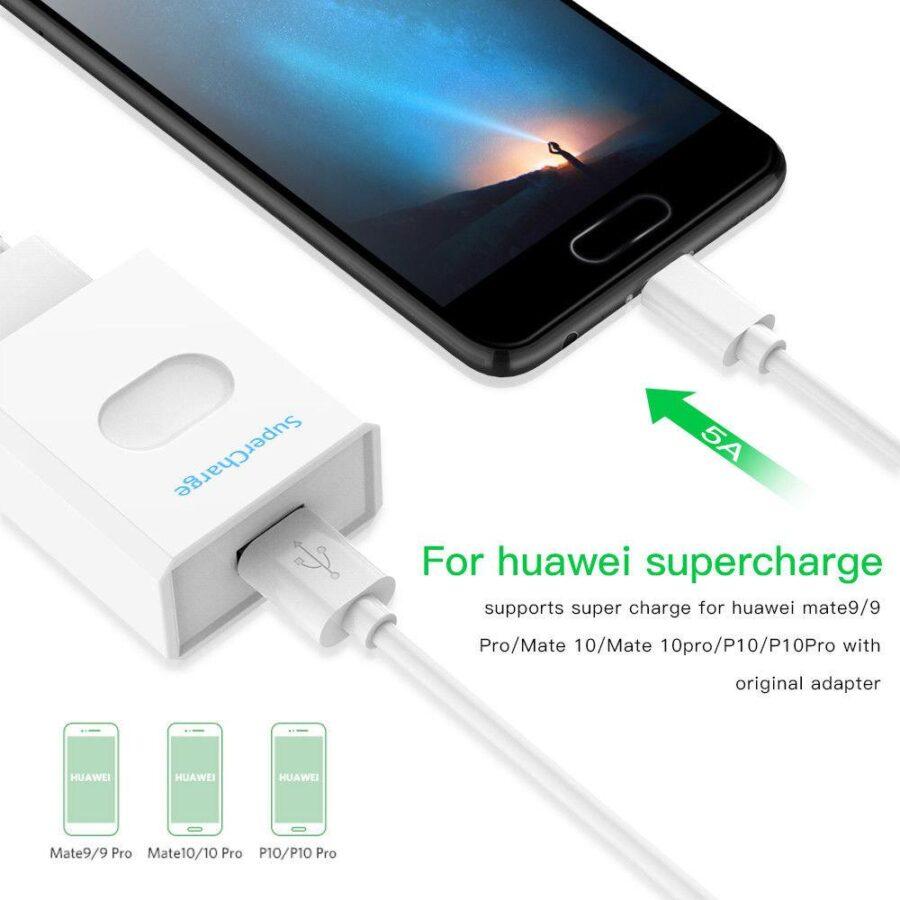 5A USB 3.1 A - USB C SuperCharge 2M