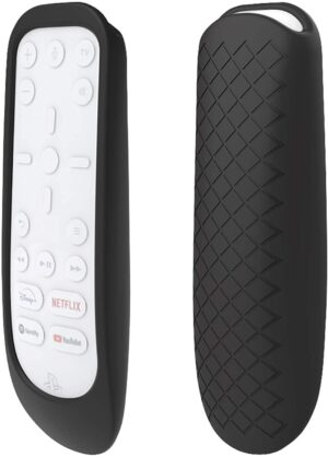 Silikon Skyddsfodral för Playstation 5 PS5 Fjärrkontroll - Svart