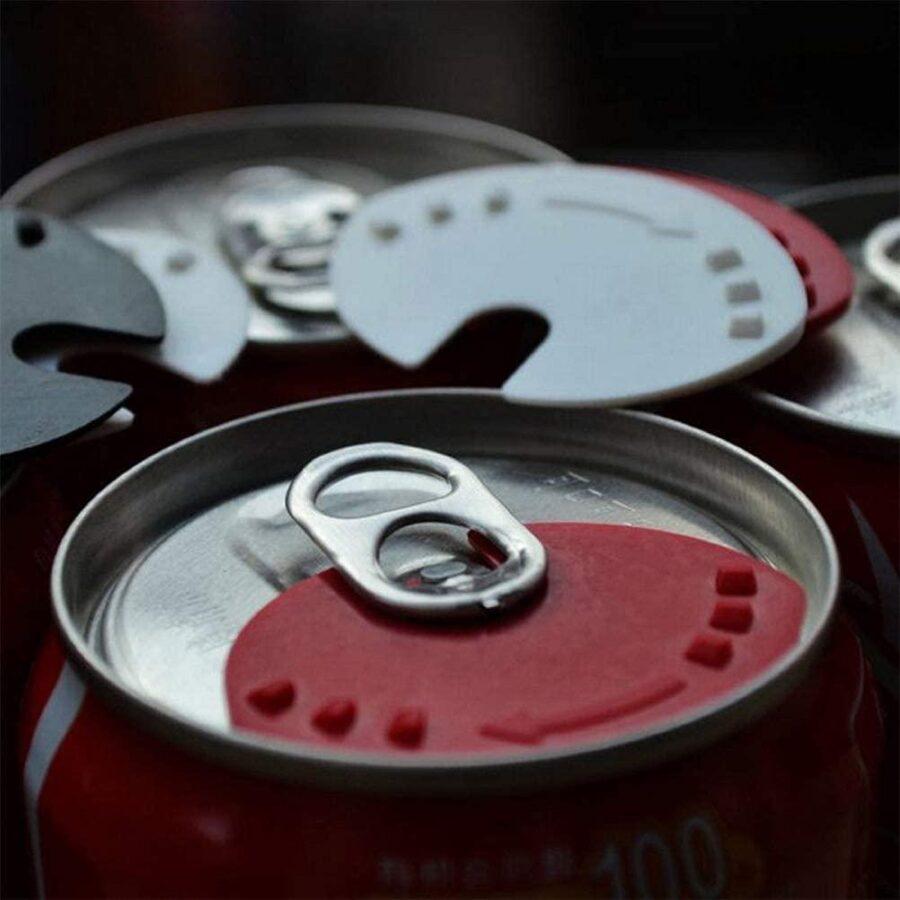 5x Burkskydd, insektsskydd för Läsk Öl liknande dryckesburkar