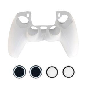 Silikonskydd för Playstation 5 PS5 Kontroll - Vit