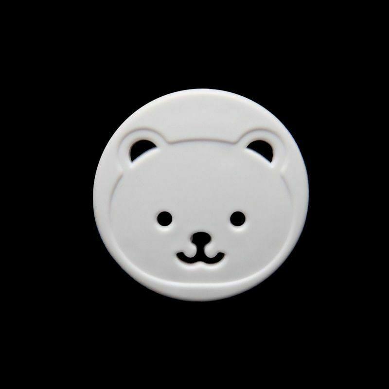 Petskydd / Kontaktskydd Björnmotiv 8st