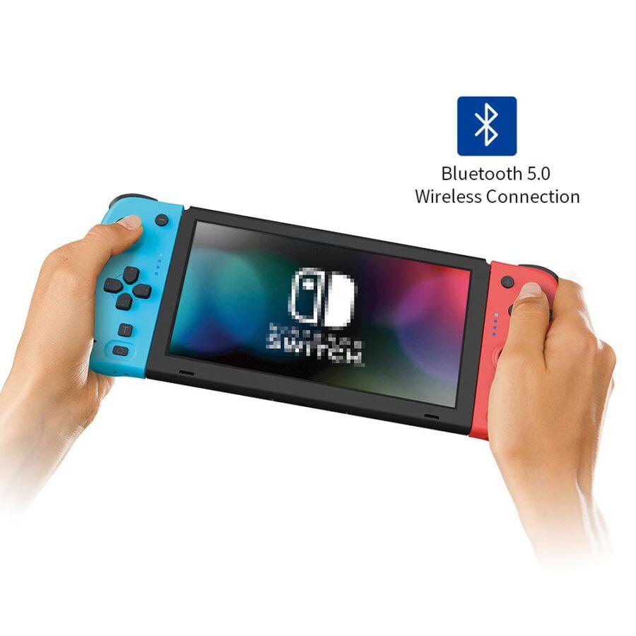 Joy Pad handkontroller till Nintendo Switch Röd och Blå