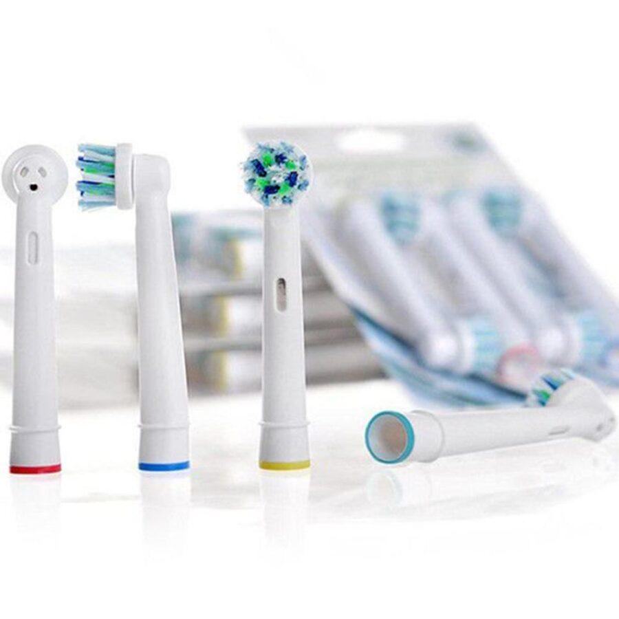 4-pack Oral-B Kompatibla Tandborsthuvuden EB-50A