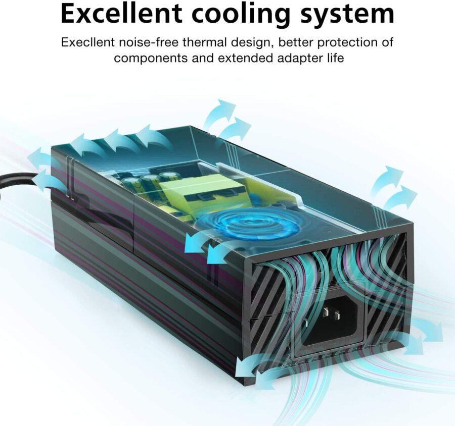 Strömadapter AC adapter till Microsoft Xbox One