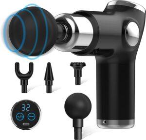 Massagepistol Med Touch knapp Samt LED-display 32 Lägen