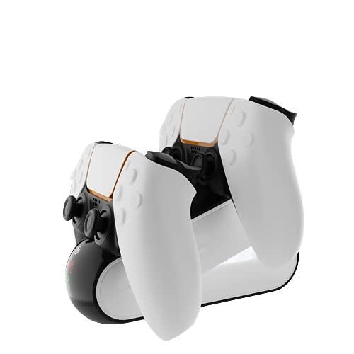 Laddningsställ liggande till PS5 kontroller