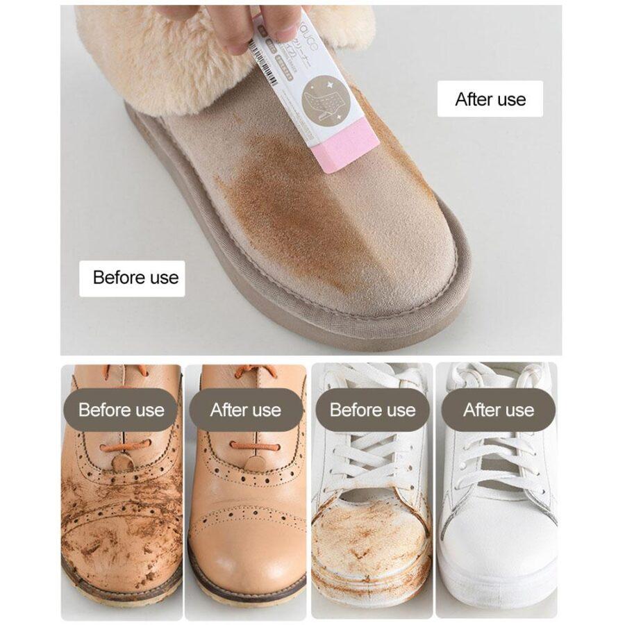 Radergummi för Skor - Rengör dina skor Transparent