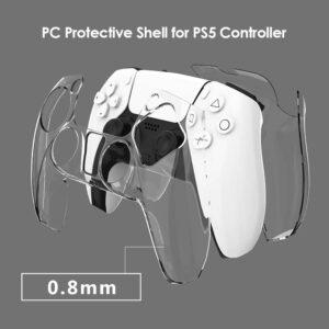 PC Hård Skydd Kontroll Playstation 5 Transparent